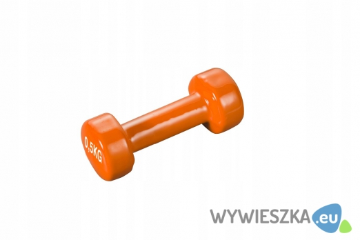 Hantla Hantelki winylowa vinylowa 0,5 kg 1 szt