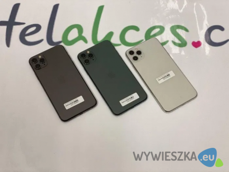 IPHONE 11 PRO MAX 64 GB Mix kolorów GALERIA ŁÓDZKA Telakces 3999zł